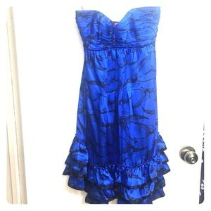 Electric blue Betsey Johnson Dress